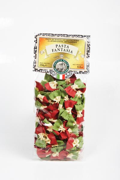 "Pâtes Farfalle tricolore ""drapeau italien"""