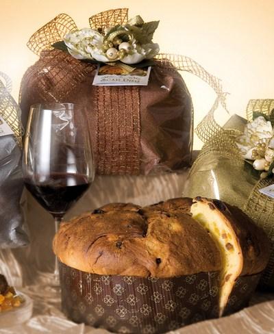 Panettone artisanal aux marrons glacés