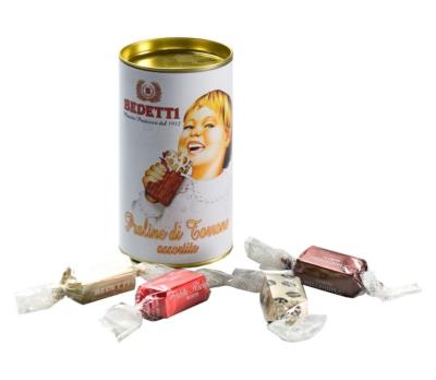 Mini nougats artisanaux en tube cadeau