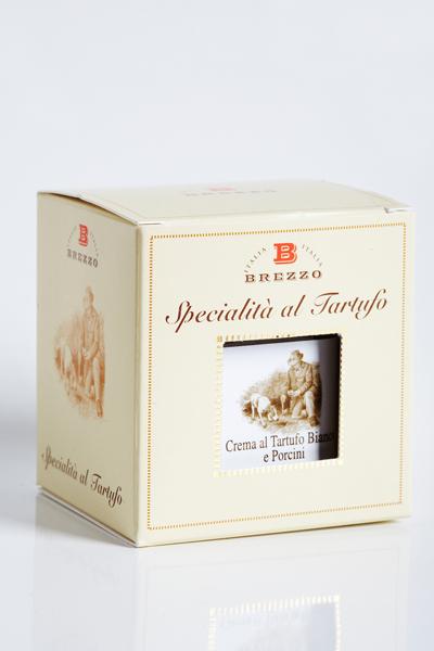 Crème artisanale à la truffe blanche