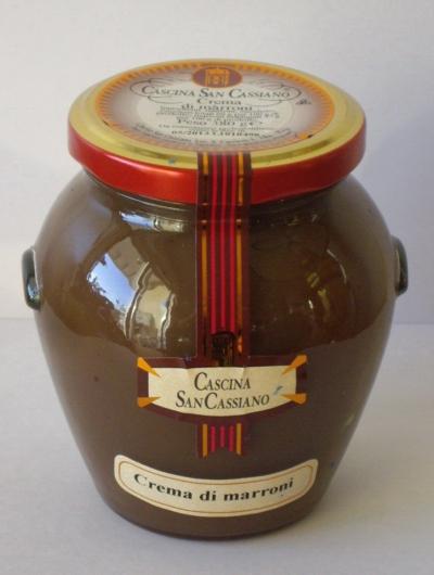 Crème de marrons artisanale