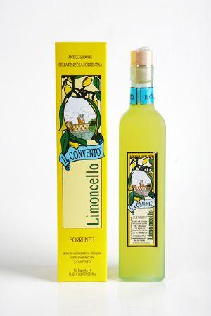 Limoncello artisanal aux citrons d'origine protégée