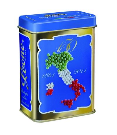 """Pastilles désaltérantes en boite métal collector """"Italia"""""""