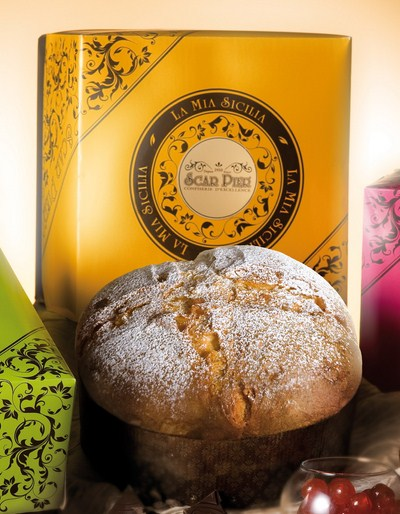 Panettone crme d'orange et chocolat