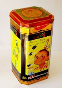 Café napolitain Moana boite collector 1 kg