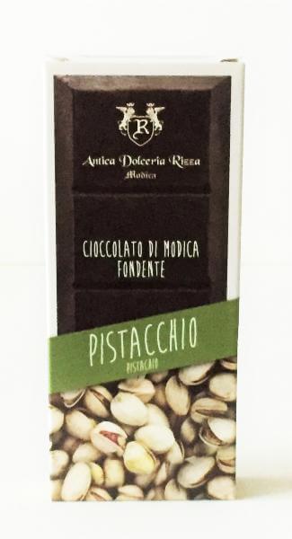 Chocolat noir de Modica à la pistache