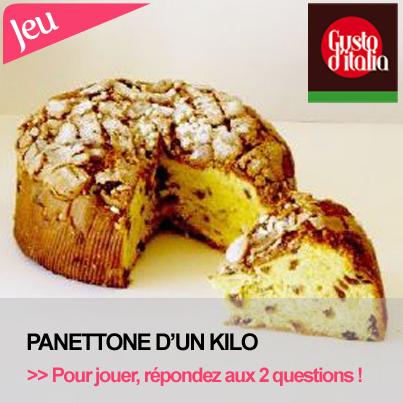 Gagnez un Panettone artisanal de pâtissier !