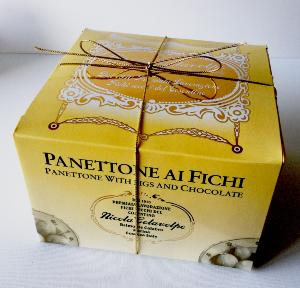 Panettone artisanal figues et chocolat