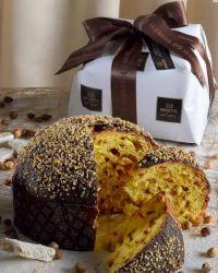 Panettone amandes/nougat/chocolat