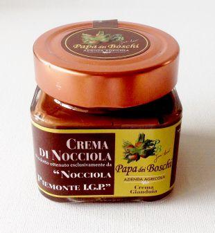 Pâte à tartiner noisettes/chocolat artisanale