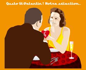 Gusto d'Italia : Sélection Saint Valentin