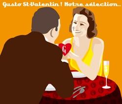 La Saint Valentin avec Gusto d'Italia