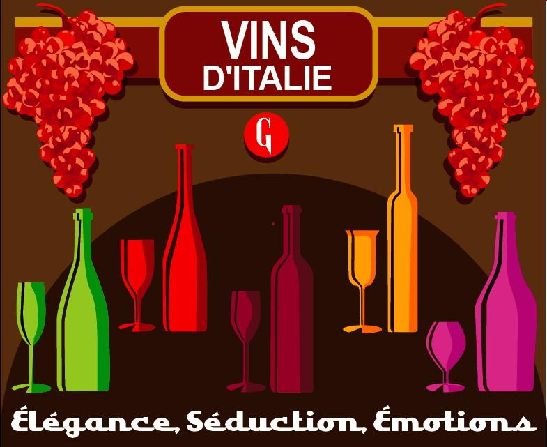 Nouveaux vins italiens chez Gusto d'Italia